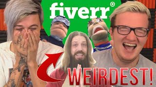 Video The WEIRDEST Things You Can PAY STRANGERS TO DO! (Fiverr) MP3, 3GP, MP4, WEBM, AVI, FLV Oktober 2018