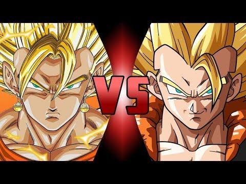 Super Vegito VS Super Gogeta | Buu Saga VS Fusion Reborn (видео)