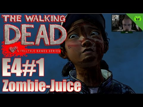 TWD S02E04 # 1 - Zombie-Juice «» Let's Play The Walking Dead Amid the ruins | HD