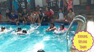 Waaahhh Seru Banget!!!! Berenang Bersama Teman-Teman Sekolah