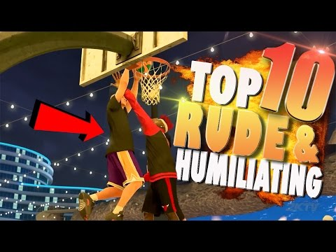 NBA 2K17 TOP 10 Most RUDE & HUMILIATING Park Plays Of The Week (видео)