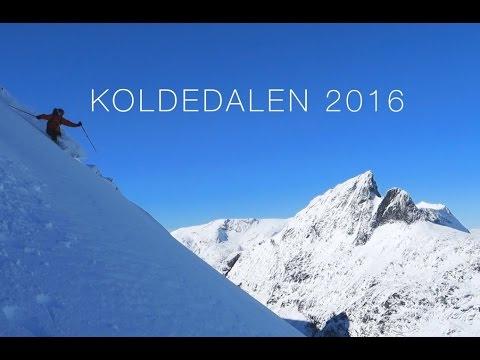 Sesongens første løssnøkjøring i Koldedalen - ©Trygve Veslum