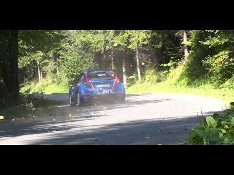 Fiesta R5 on the limit - Łukasz Habaj | Rajd Wisły 2014