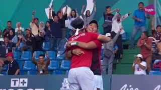 Asian Games 2018 Gold Medal Match: Aldila Sutjiadi/Christopher Rungkat vs Kumkhum/Ratiwatana