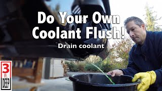 3. How to do a Coolant Flush on a Sea-Doo GTR 215 4-TEC
