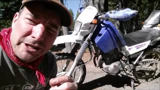 2. Yamaha XT225 Review Rubicon Trail