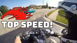 2. RAPTOR 700 TOP SPEED RUN! *STOCK*