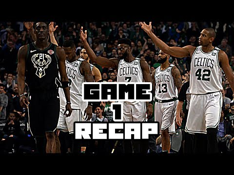 BOSTON CELTICS VS MILWAUKEE BUCKS GAME 1 RECAP!