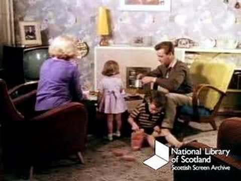 Family life in Glasgow, 1961