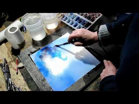 comment appliquer l'aquarelle