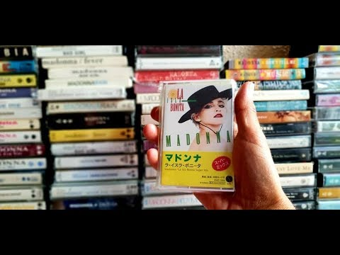 MADONNA Cassette tape K7 Collection 1983 2005