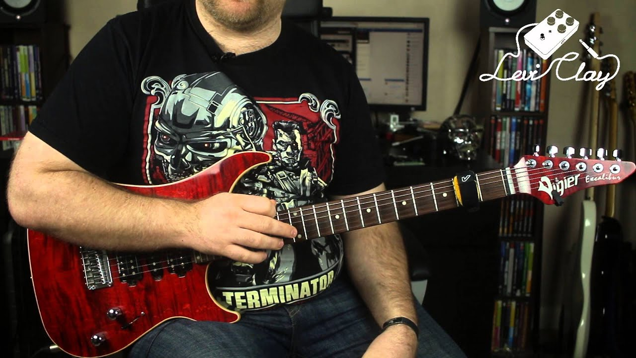Guitar Lesson – Advanced Michael Romeo Symphony X Style Tapping