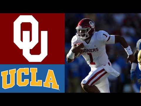 #5 Oklahoma vs UCLA Highlights | NCAAF Week 3 | College Football Highlights