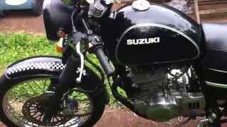 8. Tu250x cafe racer