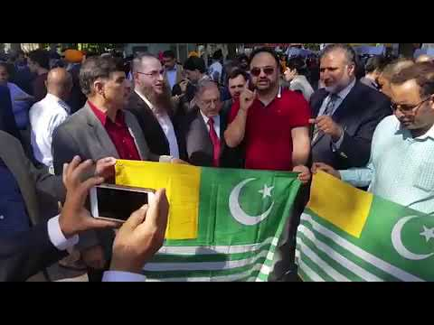 Kashmir Rally in front of UN New York