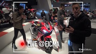 Honda CBR 1000RR Fireblade a EICMA 2016