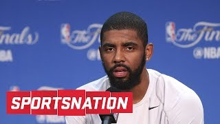 SportsNation discusses a report stating that Kyrie Irving has asked the Cavaliers to trade him in a meeting last week. ✓ Subscribe...