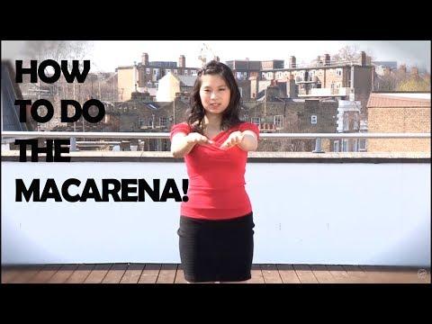 Современные танцы: Макарена. Обучающее видео.