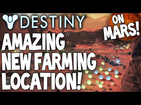 mars - Thanks To EnragedPumkin - http://goo.gl/up90qp LIKE & Subscribe for Daily Destiny Videos Hey guys, bringing you today I great looting / farming spot for Destiny, this one in fact was shown...