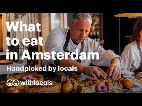 The 10 Things To Eat In Amsterdam | WHAT & WHERE To Eat, By The Locals 👫🧀 #Amsterdam #cityguide