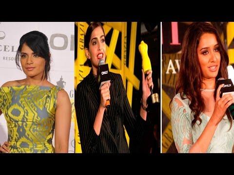 Sonam Kapoor, Shraddha Kapoor & Others At Grazia Young Fashion Awards 2014