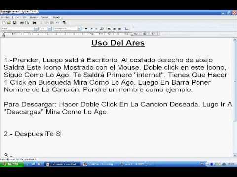 Video 12 de Ares 2.1.7.3041: Cómo descargar música del Ares
