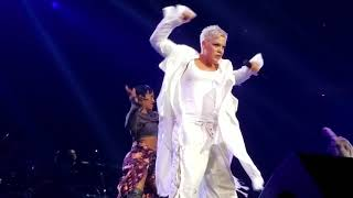 """P!nk """"What About Us"""" live Pink Beautiful Trauma Tour Philly Wells Fargo concert Philadelphia"""