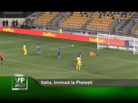 Italia, învinsă la Ploiești