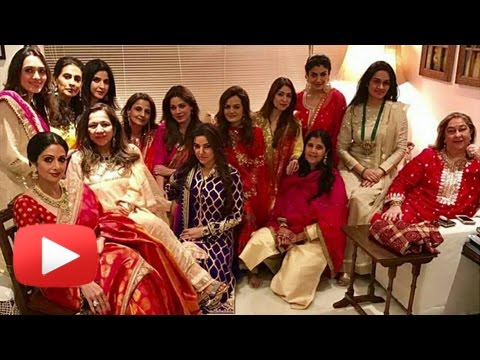 Anil Kapoor's Wife Hosts Karva Chauth Party | Srid