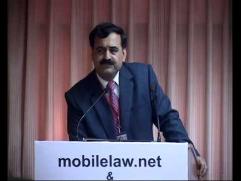 Pavan Duggal key note address at ICML 2012