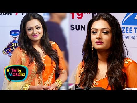Samiksha Jaiswal aka Mehek Attend Her First Zee Ri