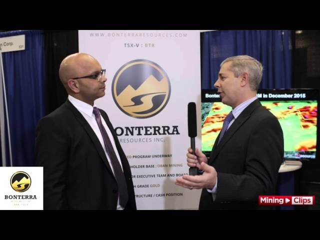Bonterra President & CEO Nav Dhaliwal at the VRIC 2016...