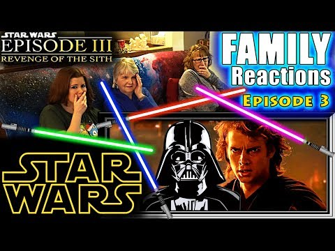 STAR WARS | Episode 3 | Revenge Of The Sith | FAMILY Reactions | Fair Use