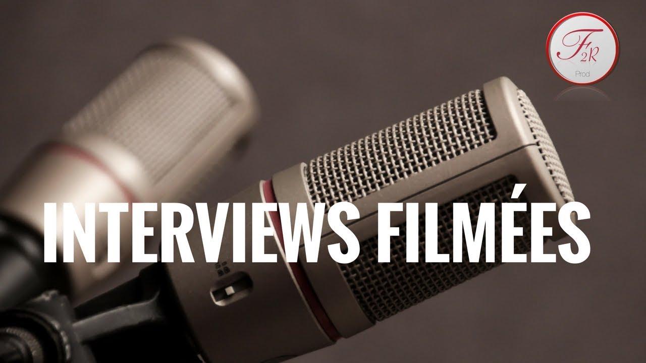 INTERVIEWS FILMÉES