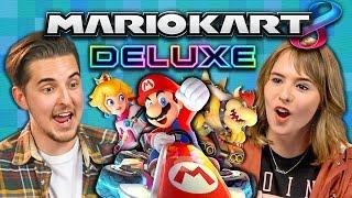 MARIO KART 8 DELUXE TOURNAMENT (College Kids React: Gaming)