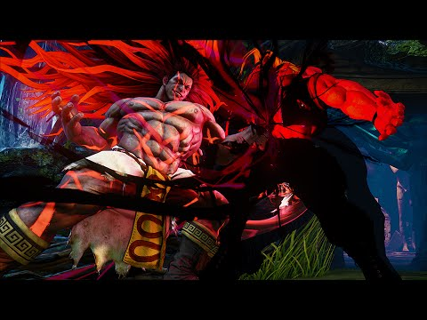 Street Fighter V Necalli Reveal Trailer