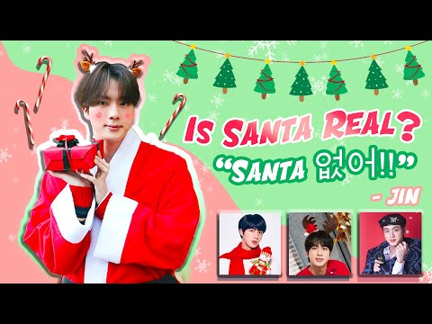 Seokjin Vs Santa 🎅。❅*⋆🎄