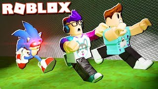 """In today's Roblox Adventure, Denis and Sketch try to escape from Sonic.exe at Area 53 in the Sonic.exe Survival gamemode in Roblox!► Subscribe for more! -- http://bit.ly/ThePalsSubscribe► Follow us on Twitter! -- https://twitter.com/SubZeroExtabyteJoin us in our Roblox Adventures as we play through various Roblox Gamemodes from Roblox High School, Roblox Apocalypse, Roblox Prison, Roblox Dating and more! Make sure to subscribe for me Roblox Adventures!▶ MORE VIDEOS!Roblox Adventures -- http://bit.ly/ThePalsAdventuresBest of The Pals -- http://bit.ly/BestOfThePalsMost Recent -- http://bit.ly/PalsMostRecent▶ CHECK OUT THE PALS!Denis -- http://youtube.com/denisdailyCorl -- http://youtube.com/corlAlex -- http://youtube.com/alexcraftedSketch -- http://youtube.com/SketchRobloxMoreSub -- http://youtube.com/SubRobloxMoreWhat is ROBLOX? ROBLOX is an online virtual playground and workshop, where kids of all ages can safely interact, create, have fun, and learn. It's unique in that practically everything on ROBLOX is designed and constructed by members of the community. ROBLOX is designed for 8 to 18 year olds, but it is open to people of all ages. Each player starts by choosing an avatar and giving it an identity. They can then explore ROBLOX — interacting with others by chatting, playing games, or collaborating on creative projects. Each player is also given their own piece of undeveloped real estate along with a virtual toolbox with which to design and build anything — be it a navigable skyscraper, a working helicopter, a giant pinball machine, a multiplayer """"Capture the Flag"""" game or some other, yet-to-be-dreamed-up creation. There is no cost for this first plot of virtual land. By participating and by building cool stuff, ROBLOX members can earn specialty badges as well as ROBLOX dollars (""""ROBUX""""). In turn, they can shop the online catalog to purchase avatar clothing and accessories as well as premium building materials, interactive components, and working mechanisms.► Mu"""