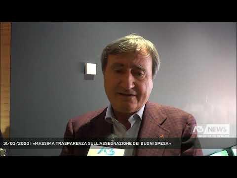 31/03/2020 | «MASSIMA TRASPARENZA SULL'ASSEGNAZIONE DEI BUONI SPESA»