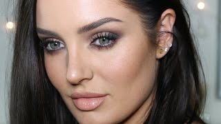Easy Neutral Glam with NO False Lashes! Makeup Tutorial by Chloe Morello