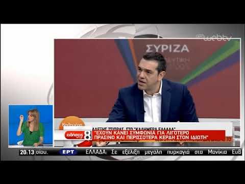 Στο «κόκκινο» η αντιπαράθεση για το Ελληνικό | 04/07/2019 | ΕΡΤ