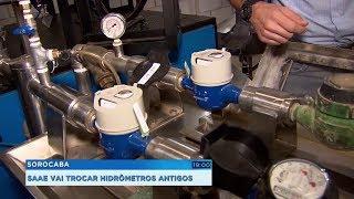 Sorocaba: Saae vai trocar hidrômetros antigos e que já não funcionam corretamente