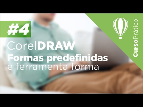 Curso prático de Design Gráfico #4 - CorelDRAW - Formas predefinidas e ferramenta forma