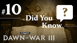 Did you know that you can make use of battlefield scrap to heal your Deff Dreads? Subscribe for more tips, tricks, and updates for Dawn of War III!