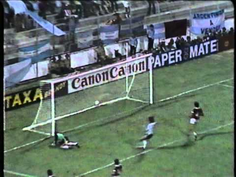 espana '82: prima fase, gruppo 3 argentina - ungheria 4-1!