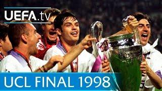 Video Real Madrid v Juventus: 1998 UEFA Champions League final highlights MP3, 3GP, MP4, WEBM, AVI, FLV September 2018