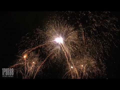 | HD | 50min fireworks display in Geneva (2009)
