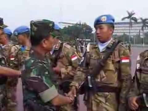 1.169 Prajurit TNI Misi Perdamaian PBB Berangkat ke Lebanon