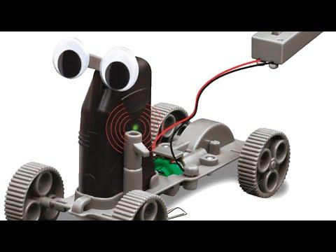 I built a metal detector robot