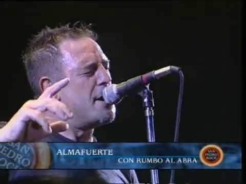 Almafuerte video Con rumbo al abra - San Pedro Rock II / Argentina 2004